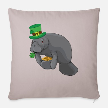 Funny Manatee St.Patrick's Day Leprechaun Gift - Pudebetræk