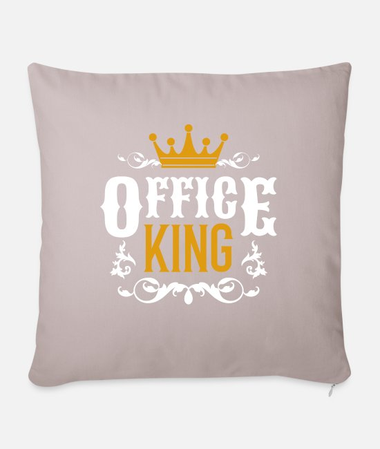 Office Pillow Cases - office - Pillowcase 17,3'' x 17,3'' (45 x 45 cm) light taupe