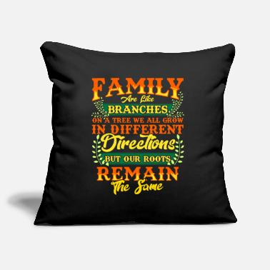 Family Values FAMILY | Family Values Family Crest Gift - Pillowcase 17,3'' x 17,3'' (45 x 45 cm)