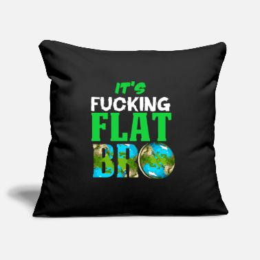 Astronomy Flat Earth Society Reptiloid Conspiracy - Pillowcase 17,3'' x 17,3'' (45 x 45 cm)