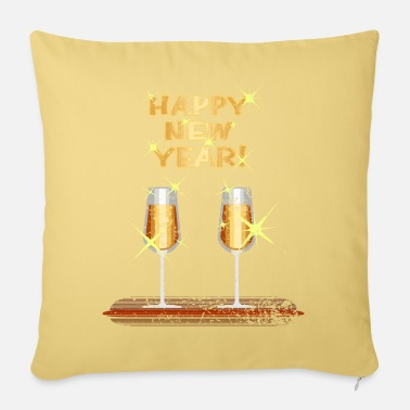New New Year's Eve New Year's Eve Midnight gift - Pillowcase 17,3'' x 17,3'' (45 x 45 cm)