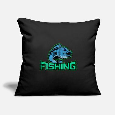 Fish Hook Fishing fishing fishing hooks - Pillowcase 17,3'' x 17,3'' (45 x 45 cm)