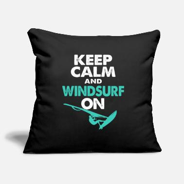 Wind Windsurf Windsurfing Windsurfing Watersports Surf - Pillowcase 17,3'' x 17,3'' (45 x 45 cm)