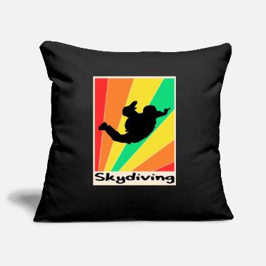 Garden Skydiving posters Skydiving - Pillowcase 17,3'' x 17,3'' (45 x 45 cm)