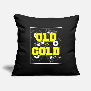 Vynil Birthday Old but Gold Caskets Vynil Gift - Pillowcase 17,3'' x 17,3'' (45 x 45 cm)