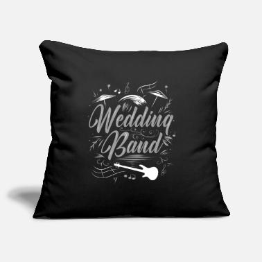 Wedding Band wedding - Pillowcase 17,3'' x 17,3'' (45 x 45 cm)