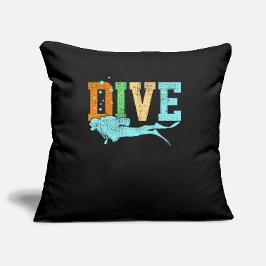 Diving Diving Diving - Pillowcase 17,3'' x 17,3'' (45 x 45 cm)