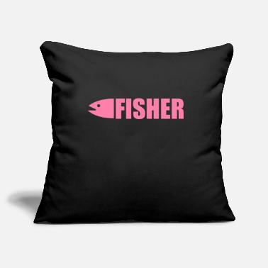 Fishing Fishing fishing fishing fishing - Pillowcase 17,3'' x 17,3'' (45 x 45 cm)