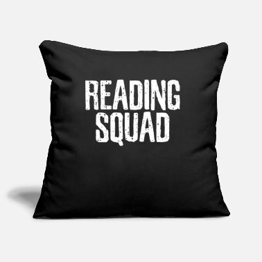Read Read Read Read - Pillowcase 17,3'' x 17,3'' (45 x 45 cm)