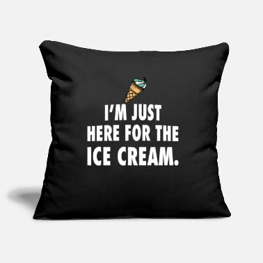 Ice Ice cream ice cream - Pillowcase 17,3'' x 17,3'' (45 x 45 cm)