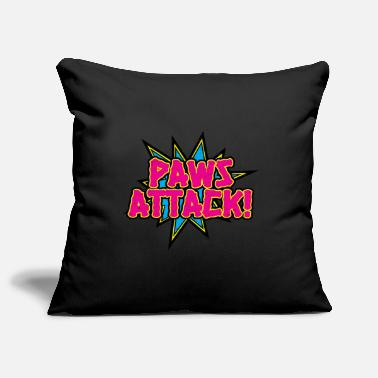 Attack Paws Attack! - Pillowcase 17,3'' x 17,3'' (45 x 45 cm)
