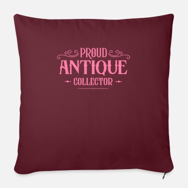 Antiques Hobby Collecting antique hobby antique collection - Pillowcase 17,3'' x 17,3'' (45 x 45 cm)