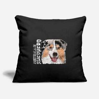 Natural Australian Shepherd gift - Pillowcase 17,3'' x 17,3'' (45 x 45 cm)