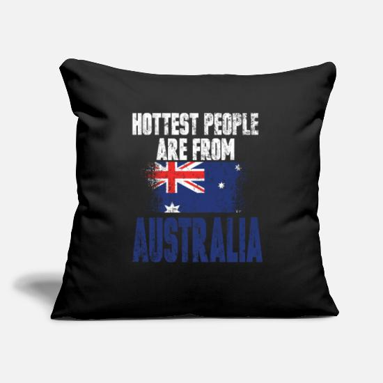 Gift Idea Pillow Cases - Australia Sexy Country Flag Gift - Pillowcase 17,3'' x 17,3'' (45 x 45 cm) black