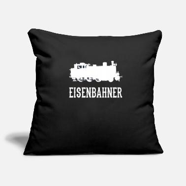 Railway Workers Railway workers steam locomotive steam locomotive railway - Pillowcase 17,3'' x 17,3'' (45 x 45 cm)
