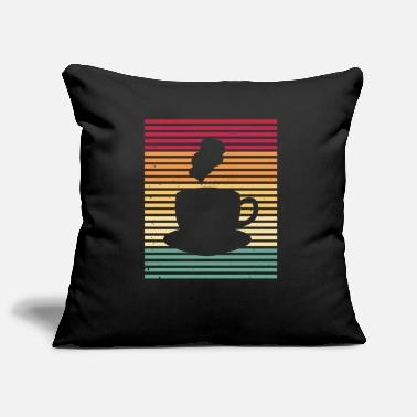 Tired Coffee Coffee Coffee Drinker Morning Vintage Retro - Pillowcase 17,3'' x 17,3'' (45 x 45 cm)