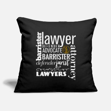 Lawyer Lawyer hobby sport leisure gift - Pillowcase 17,3'' x 17,3'' (45 x 45 cm)