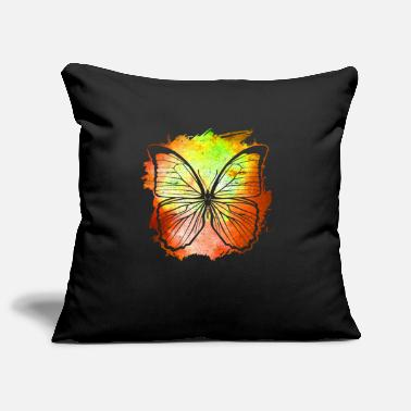 Insect Butterfly Butterfly - Pillowcase 17,3'' x 17,3'' (45 x 45 cm)