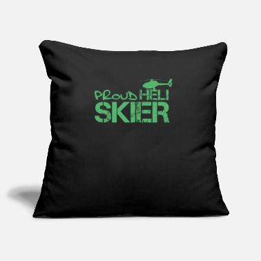 Ski Helicopter skiing - Pillowcase 17,3'' x 17,3'' (45 x 45 cm)