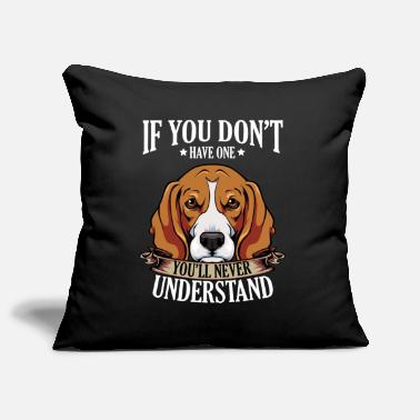 Beagle beagle - Pillowcase 17,3'' x 17,3'' (45 x 45 cm)