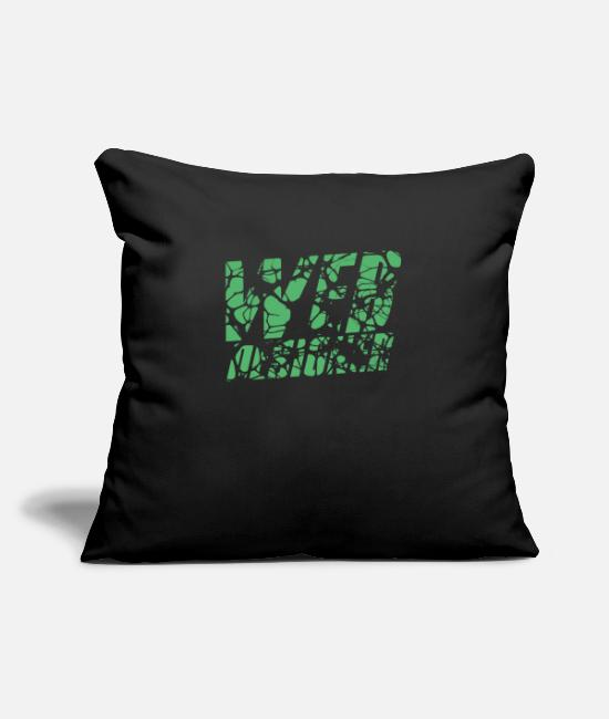 Program Pillow Cases - Web designer - Pillowcase 17,3'' x 17,3'' (45 x 45 cm) black