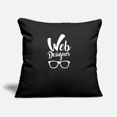 Web Web Designer Web Developer - Pillowcase 17,3'' x 17,3'' (45 x 45 cm)