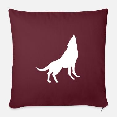 Yell Yelling Wolf - Pillowcase 17,3'' x 17,3'' (45 x 45 cm)