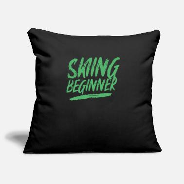 Ski Beginner Ski beginner - Pillowcase 17,3'' x 17,3'' (45 x 45 cm)