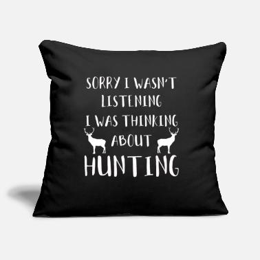 Hunting Deer hunting hunting hunt - Pillowcase 17,3'' x 17,3'' (45 x 45 cm)
