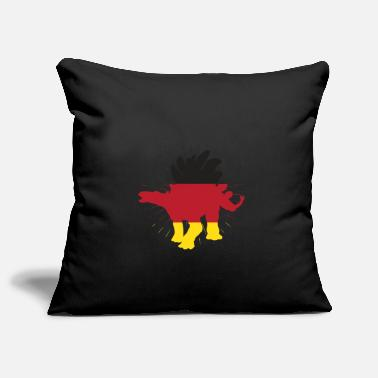 Stegosaurus Germany and dinosaur gift art - Pillowcase 17,3'' x 17,3'' (45 x 45 cm)