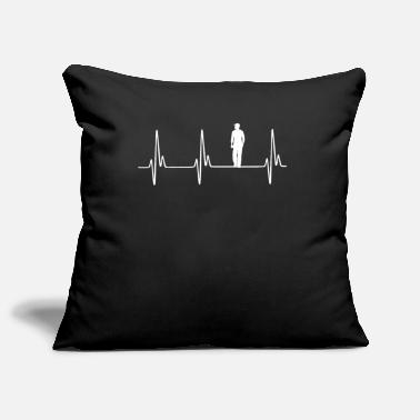 Conductor De My Heart Beats For Truck Drivers - Pillowcase 17,3'' x 17,3'' (45 x 45 cm)