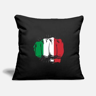 Italy Italy flag fist hand country gift design - Pillowcase 17,3'' x 17,3'' (45 x 45 cm)
