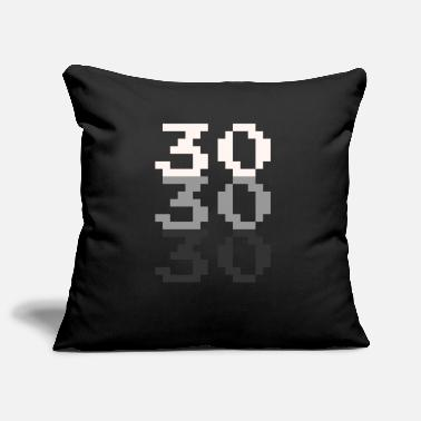 Pixel 30th birthday for gamers - Pillowcase 17,3'' x 17,3'' (45 x 45 cm)