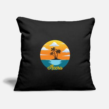 Accra Accra dream vacation and holiday - Pillowcase 17,3'' x 17,3'' (45 x 45 cm)