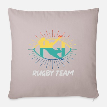 Rugby Rugbyspel team retro sport cadeau - Kussenhoes