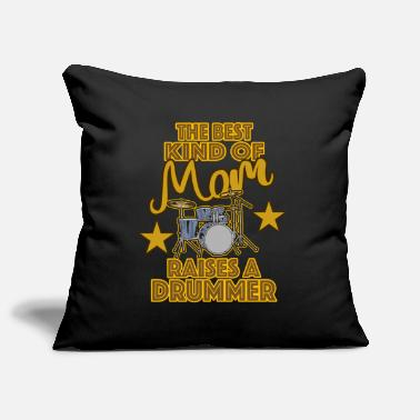 Drummer drums mom mom mother's day - Pillowcase 17,3'' x 17,3'' (45 x 45 cm)