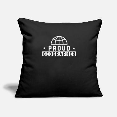 Geographic geographer - Pillowcase 17,3'' x 17,3'' (45 x 45 cm)