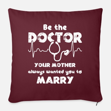 The Doctor Doctor Be The Doctor - Pillowcase 17,3'' x 17,3'' (45 x 45 cm)