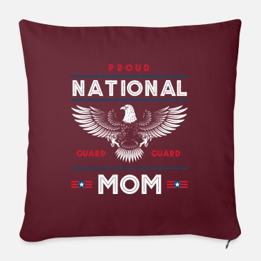 Veterans Proud National Guard Mom Memorial Day Gift - Pillowcase 17,3'' x 17,3'' (45 x 45 cm)