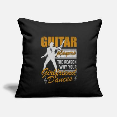 Guitar Player Guitar music bassist gift - Pillowcase 17,3'' x 17,3'' (45 x 45 cm)