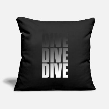 Sea Scuba Diving Diving Snorkeling Diver Divers - Pillowcase 17,3'' x 17,3'' (45 x 45 cm)