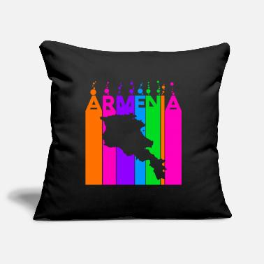 Armenia Colored bubbles and bubbles - Pillowcase 17,3'' x 17,3'' (45 x 45 cm)