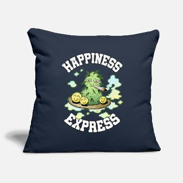 Happiness Express Weed Weed Smoking Happy THC - Funda de cojín
