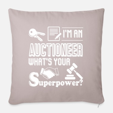 Auctions Auctioneer I'm An Auctioneer - Pillowcase 17,3'' x 17,3'' (45 x 45 cm)