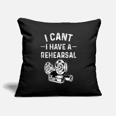 Rehearsal Rehearsing theater actors - Pillowcase 17,3'' x 17,3'' (45 x 45 cm)