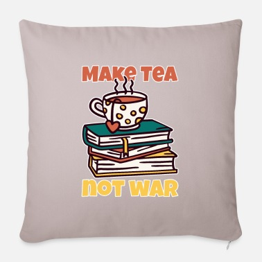 tea drinker saying gift - Pillowcase 17,3'' x 17,3'' (45 x 45 cm)