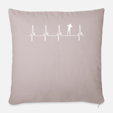 Violing Design Gamba EKG - Pillowcase 17,3'' x 17,3'' (45 x 45 cm)