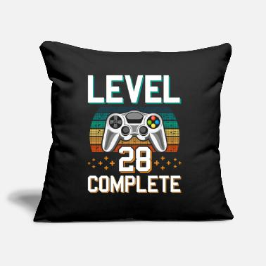 Pc Level 28 Complete 28 Years of Gamer Gamer - Pillowcase 17,3'' x 17,3'' (45 x 45 cm)