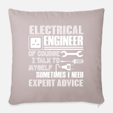 Electrical Engineering Electrical Engineer Funny Electrical Engineer - Pillowcase 17,3'' x 17,3'' (45 x 45 cm)