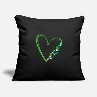 Botanical Cactus plant Cactus Heart - Pillowcase 17,3'' x 17,3'' (45 x 45 cm)